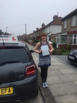 Amazing driving from Sarah Peterson today!! Just smashed her test at the 1st attempt with only 4 little minors! 🚗💨Want to be next? Call 0800 043 2242 or visit johnmichaeldriving.co.uk...