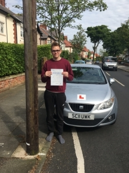 Another First Time Pass!! This time Harry Munro!!  Passed today at Blyth today with his instructor Dave Sproat. Visit johnmichaeldriving.co.uk or call 0800 043 2242 to book 🚙💨...