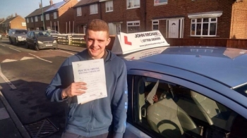 Well done Ryan! Passed 1st time on the 12/2/2015...