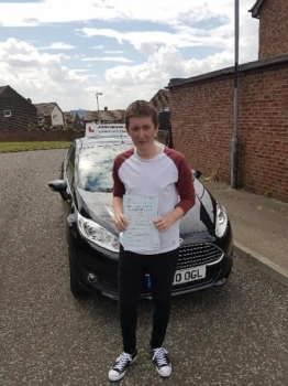 Well done Parker! Passed at the 1st attempt with only 1 minor! 22/07/2016...